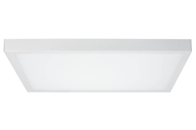 Paulmann WallCeiling Lunar LED-Panel 600x600mm 26W 230V Weiß matt Alu