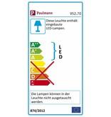 Paulmann URail System LED Spot Pedal 1x5W Weiß 230V Metall
