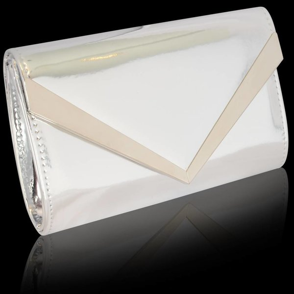 Party Envelope clutch - Zilver