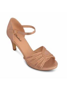 Avond sandalen Goud