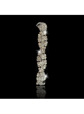 Strass armband Zilver  (S20Z)