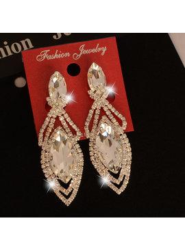 Fashion Jewelry Party oorbellen - Zilver - met clips