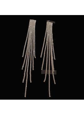 lange oorstekers Zilver