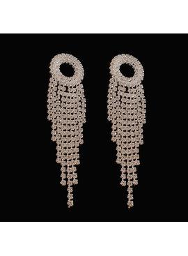 fashion oorbellen - Zilver
