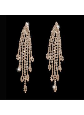 Zilveren oorbellen | bruid | gala