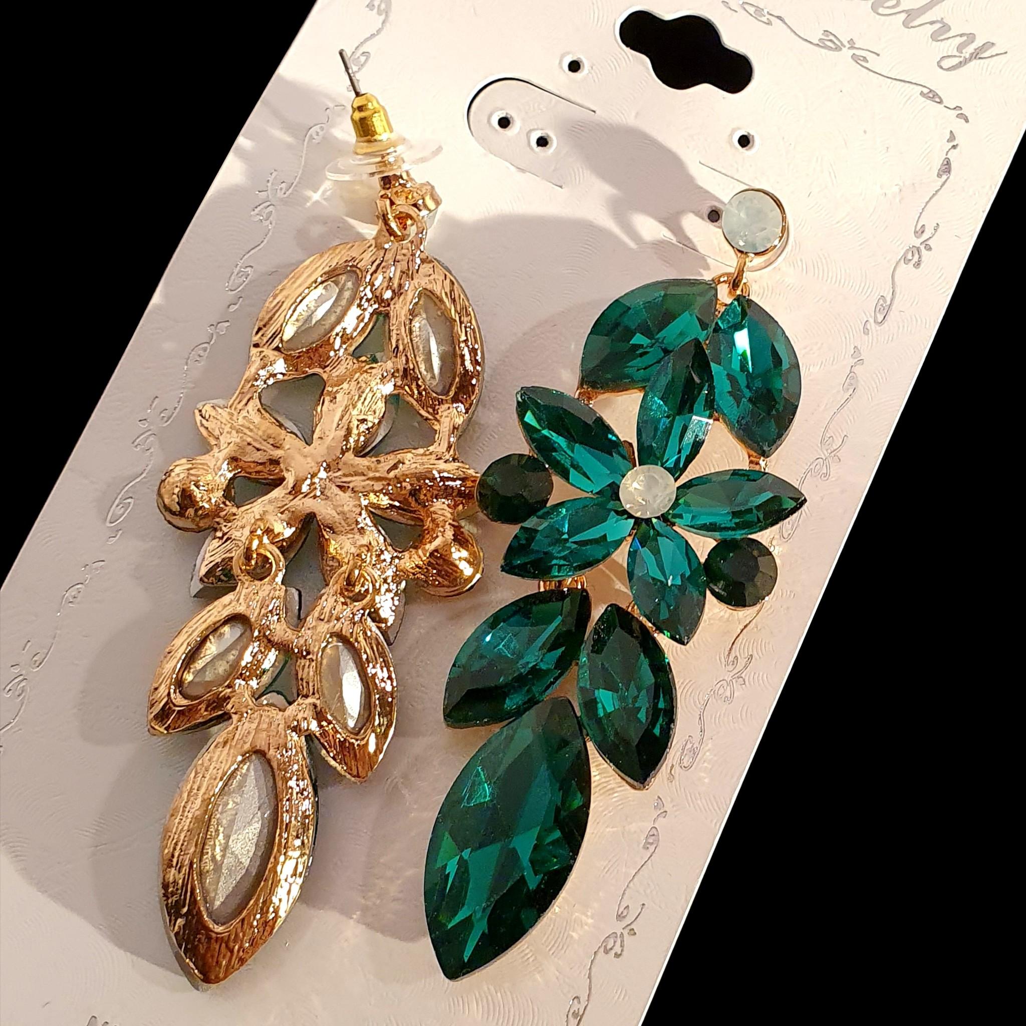 fashion oorbellen  Sheena - Groen