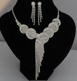 Bruidsjuwelen set  - Shantell - Zilver