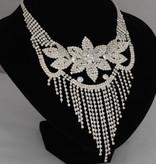 Bruidsjuwelen set  Florina  - Zilver