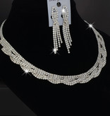 Luxe sieraden set - Zilver