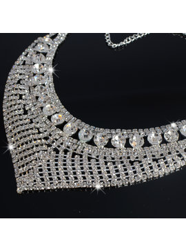 V - Shaped Choker - Zilver