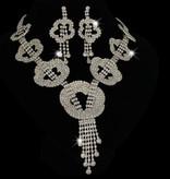 Exclusieve  bruidsketting - Zilver