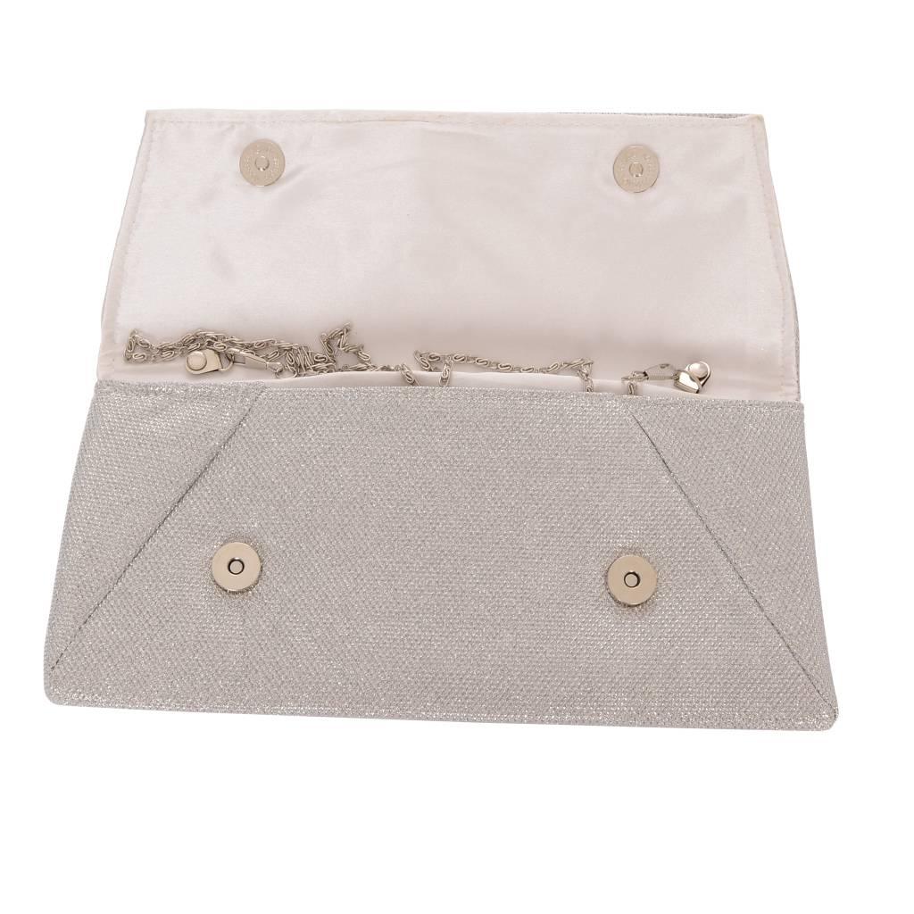 Envelope Clutch- Zilver