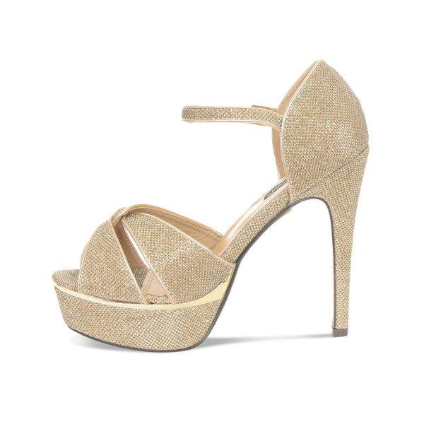 Gouden plateau sandaal