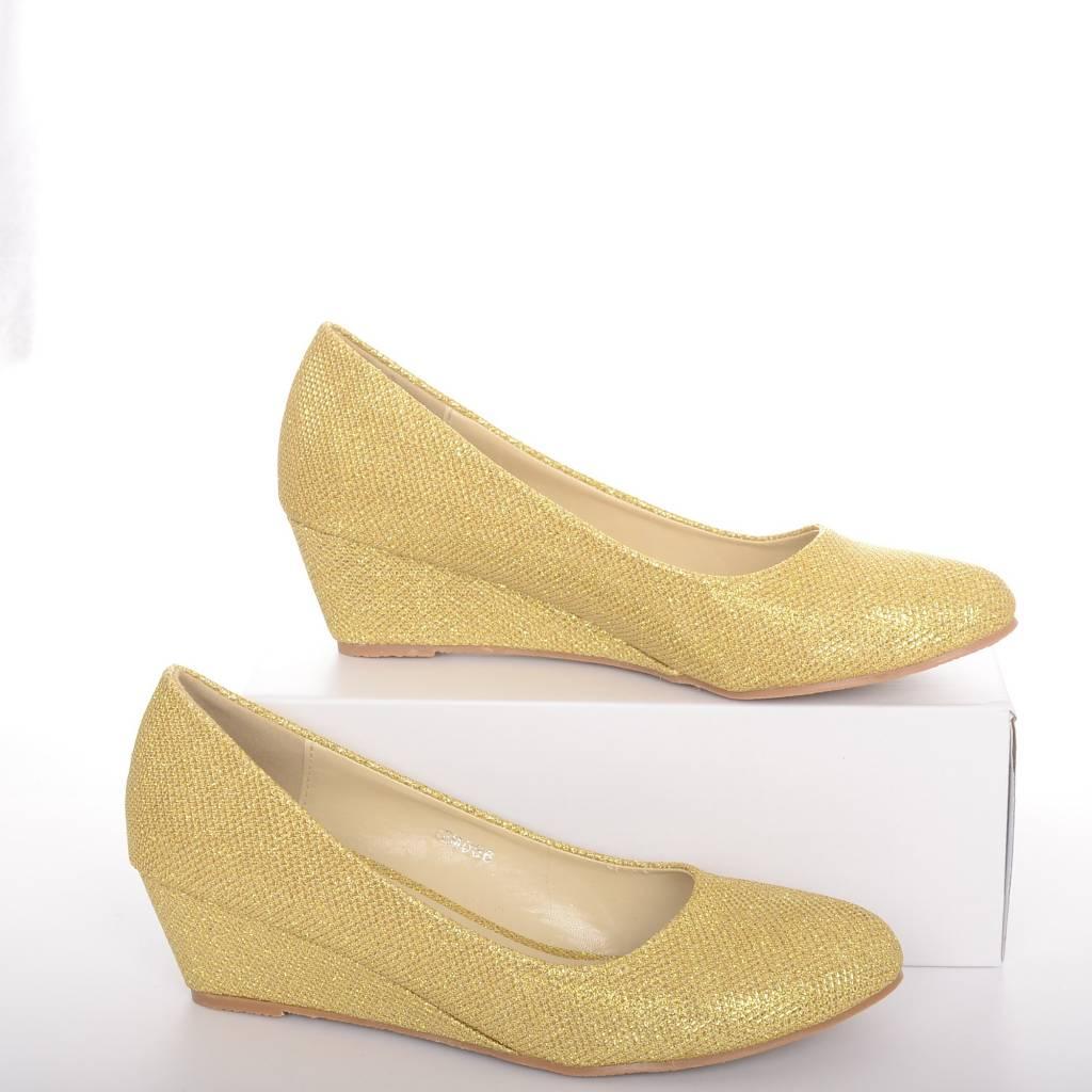 Sleehak pump goud
