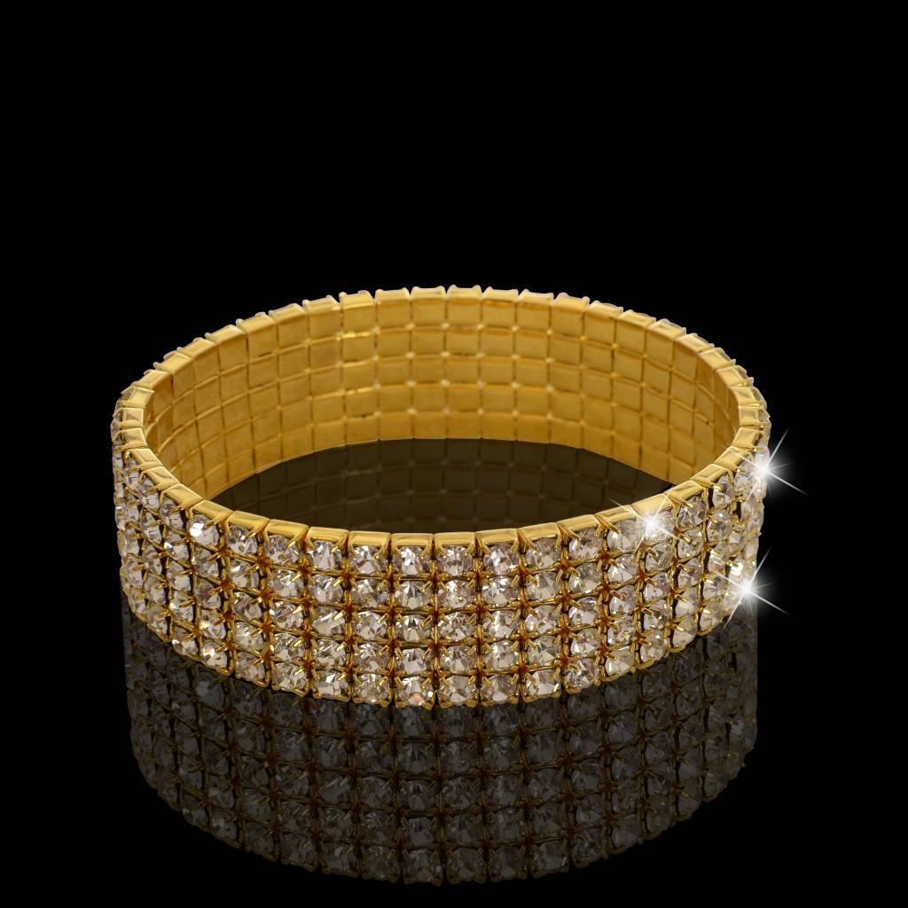 Strass armband (S201)