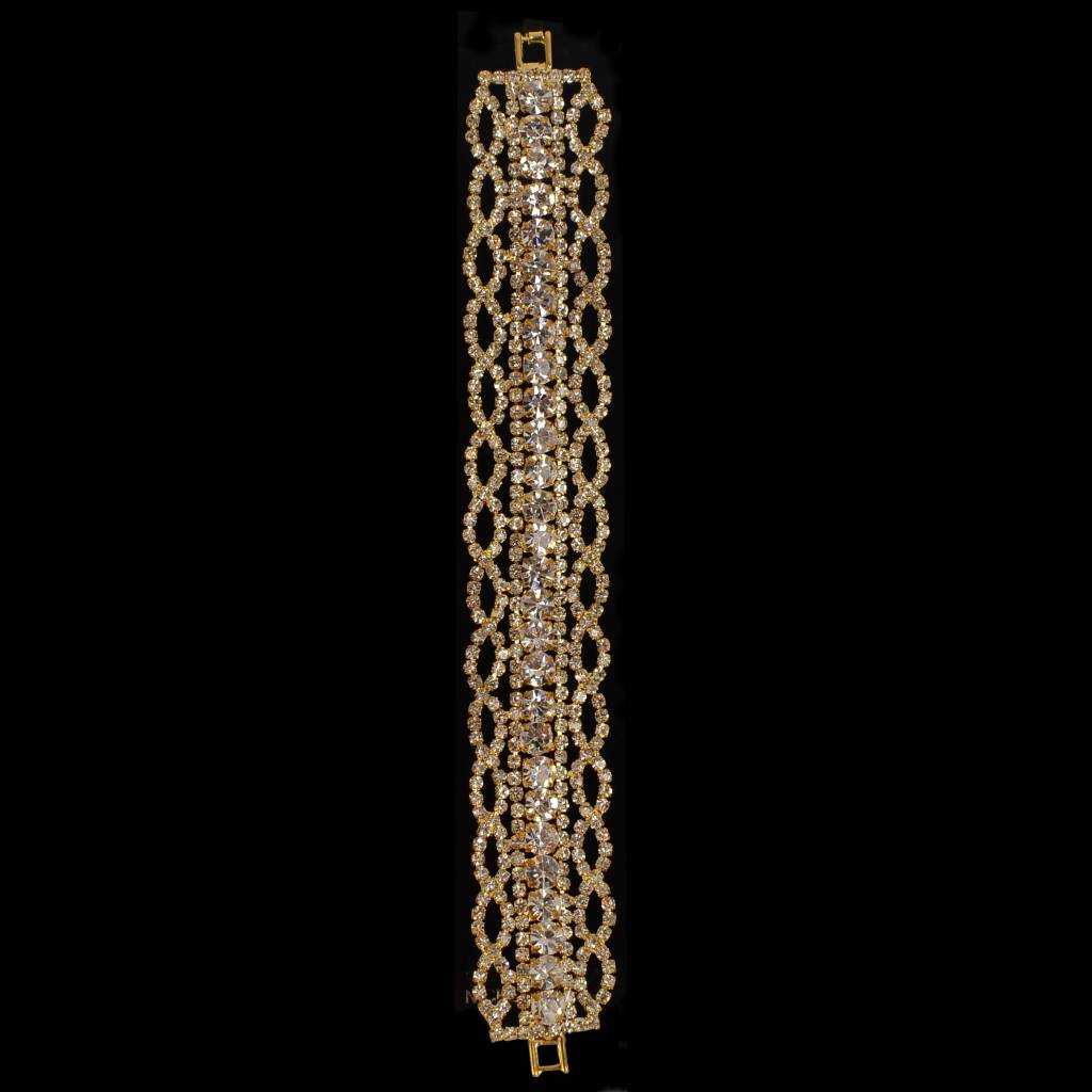 Strass armband (S203)