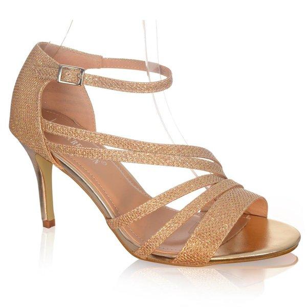 Stijlvolle glitter sandaaltje
