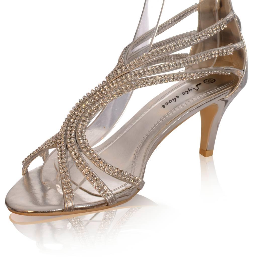 Sandaletten met strass