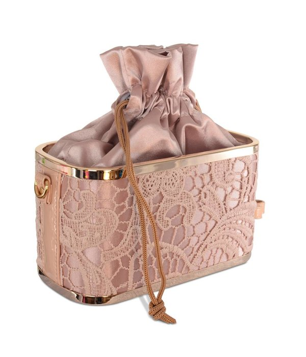 Chique bruidstas /avondtas -champagne