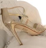 Avond sandaletten- Goud