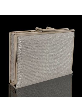 Box clutch - zilver