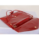 Party Envelope clutch - Rood