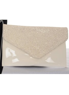 Party Envelope clutch - Ivoor
