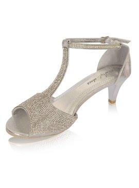 gala schoenen zilver