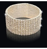 Strass armband Zilver (S218)