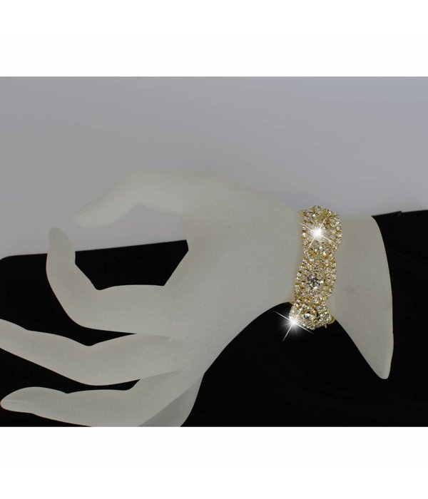 Luxe Strass armband