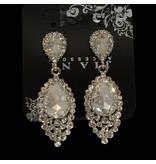 bruids oorbellen zilver