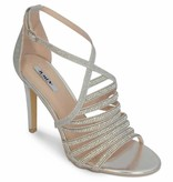Gala sandalen - zilver