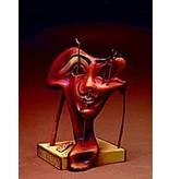 Salvador Dali Zacht zelfportret met gebakken spek - Salvador Dali