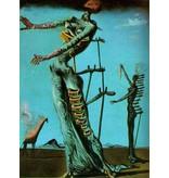 Salvador Dali Brennende Giraffe (1936-1937) - Dali / Femme avec tiroirs