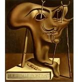 Salvador Dali Weiches Selbstbildnis mit gebratenen Speck