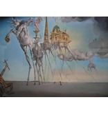 Salvador Dali White horse from The temptation of Saint Anthony (1946) - Salvador Dali