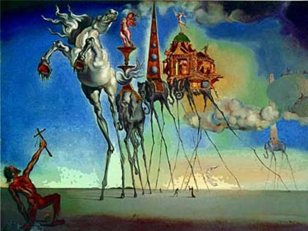 a0ca51da004 ... Salvador Dali Elephant from The temptation of Saint Anthony (1946)