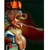 Salvador Dali Portrait of Picasso (1947 - Dali)