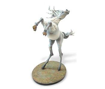Salvador Dali White horse - The temptation - Dali