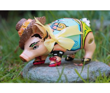 Toms Drag Pig or pig Little Charlene - miniature medium