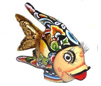Toms Drag vissenbeeldje Oscar, zwart - L