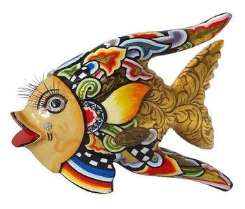 Toms Drag Fisch Oscar, golden sunfish - S