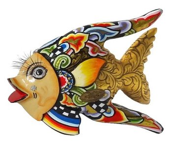 Toms Drag Vis Oscar goud, vissenbeeld S