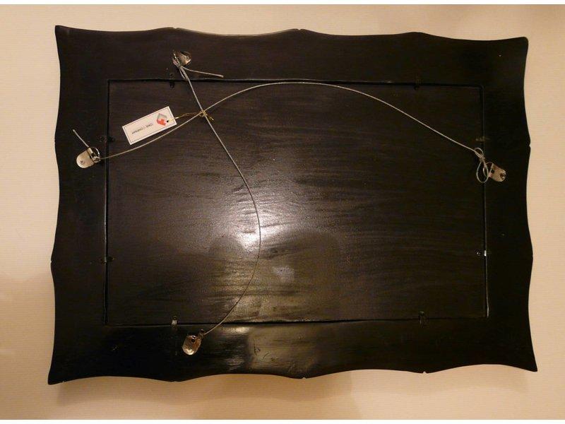 Toms Drag Rectangular Mirror Bamboo - Silverline
