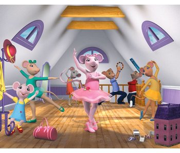 Walltastic Behang Angelina Ballerina XXL