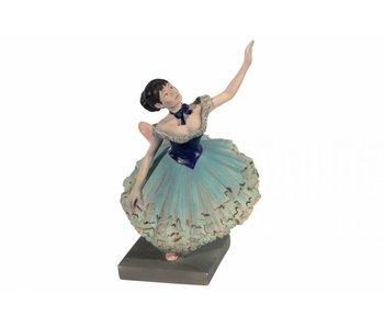 Mouseion The green dancer by Edgar Degas