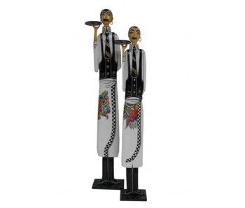 Toms Drag Waiter statue