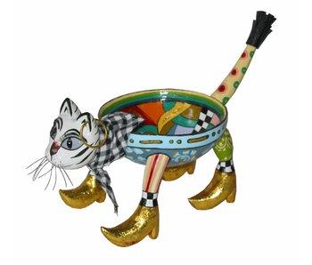 Toms Drag Schaaltje kat / bonbonschaal