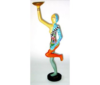 Toms Drag Acrobat statue with bowl, standing - L