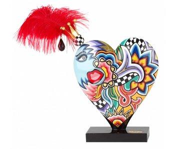 Toms Drag Corazón decorativo - L